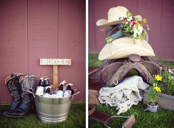 Ideas For A Fun Wedding: A Southern Wedding Welcome Table