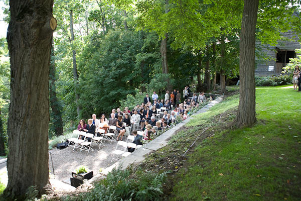 Diy upstate new york wedding once wed for Outdoor wedding venues in ny