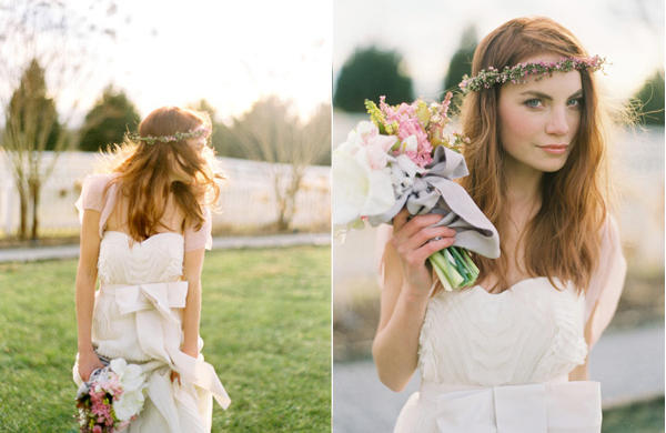 Flowers in her Hair - Once Wed 2f8afe851c0
