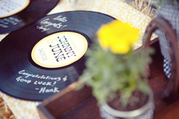 record wedding guestbook