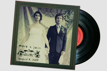 record wedding ideas