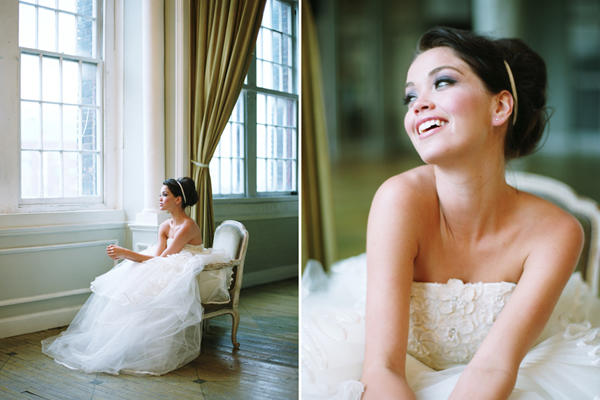 tulle wedding dress pictures