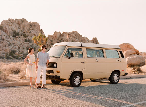 vw bus engagement shoot ideas