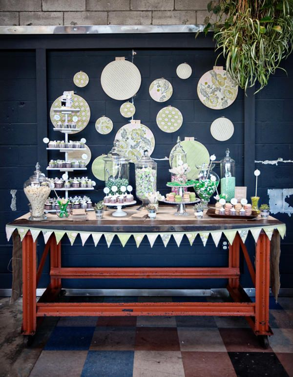 yes please dessert table