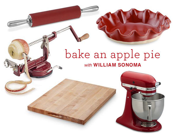Appie Pie With William Sonoma