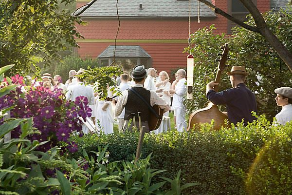 Backyard New York Wedding