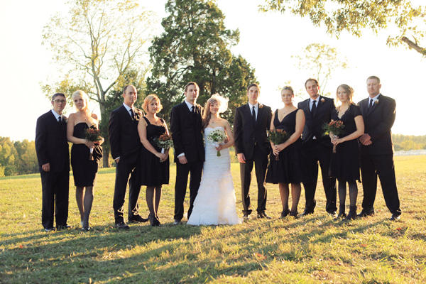 Black Bridesmaid Dress Ideas
