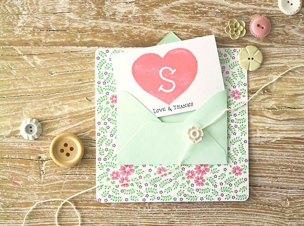 Bridesmaid Thank You Cards