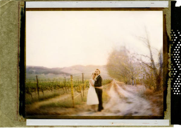 California Polaroid Wedding
