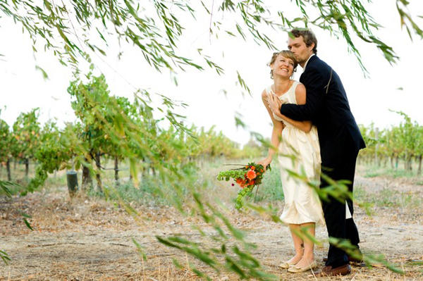 California Vineyard Handmade Wedding