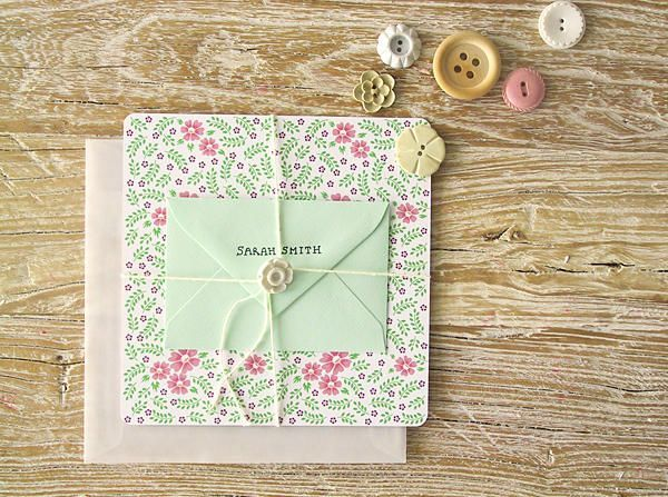 Diy Bridesmaid Thank You Cards Once Wed