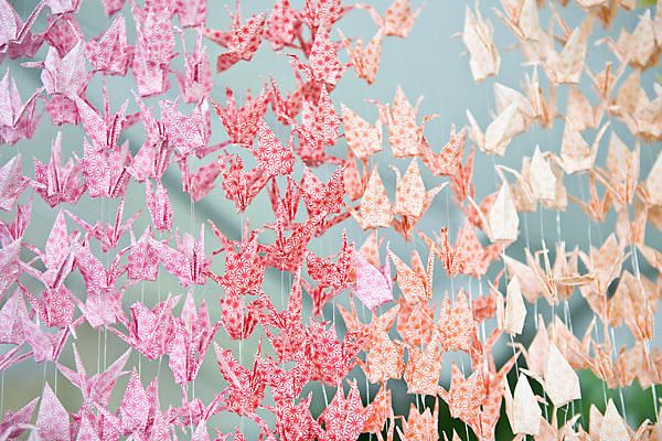 Diy Wedding Paper Cranes