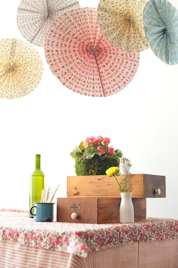 Diy Wedding Paper Fans