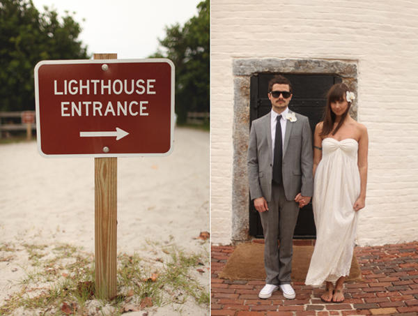 A Lighthouse Wedding