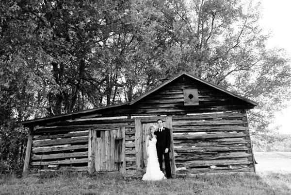 Log Cabin Wedding Ideas