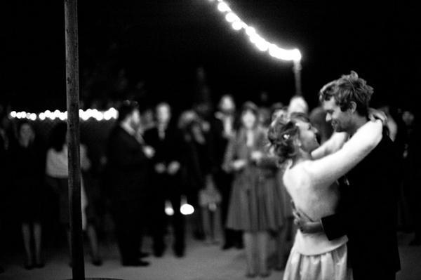 Outdoor Wedding Dancing