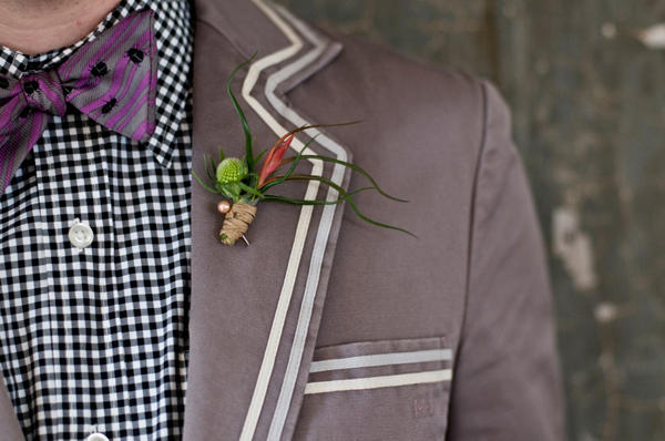 Purple Wedding Suit