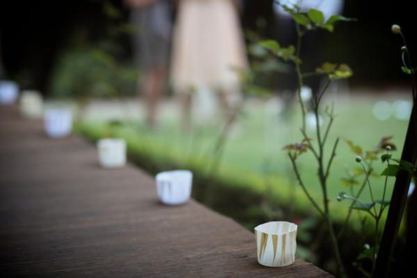 Simple Candle Wedding Ideas