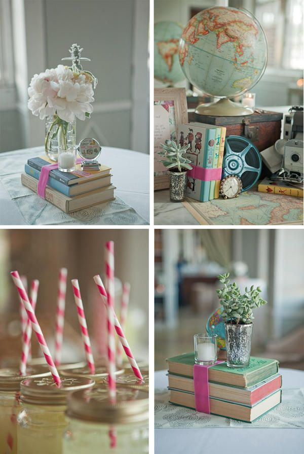 Book Wedding Centerpieces