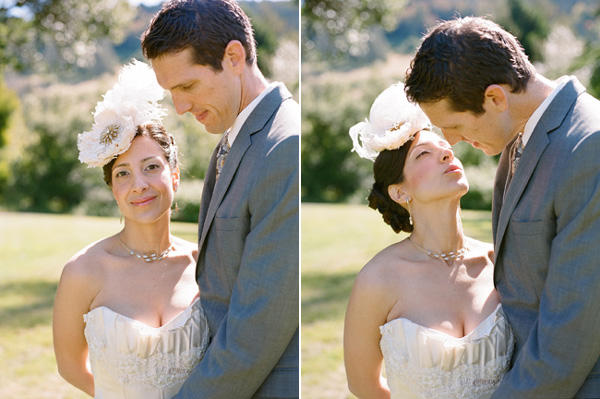 Feather Wedding Hairpiece