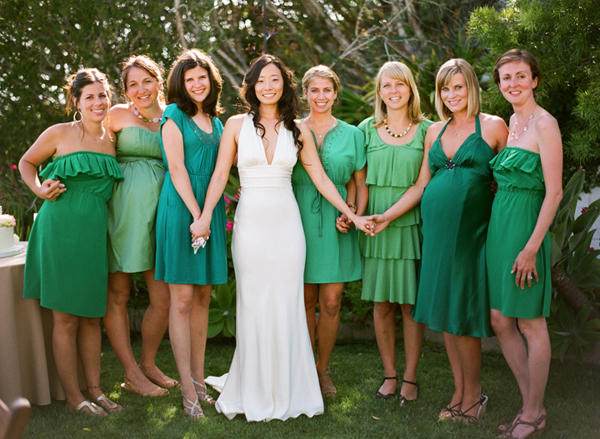 Green Bridesmaid Dress Ideas