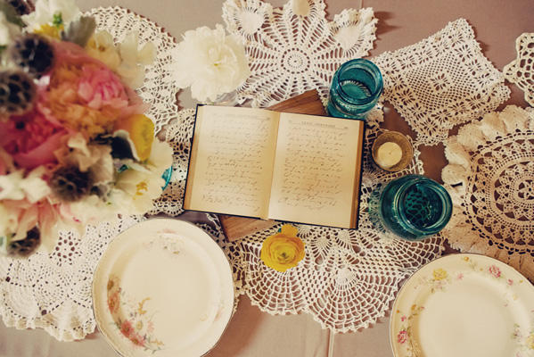 Lace Doily Wedding Ideas