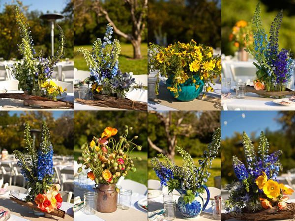 Ranch Wedding Flowers