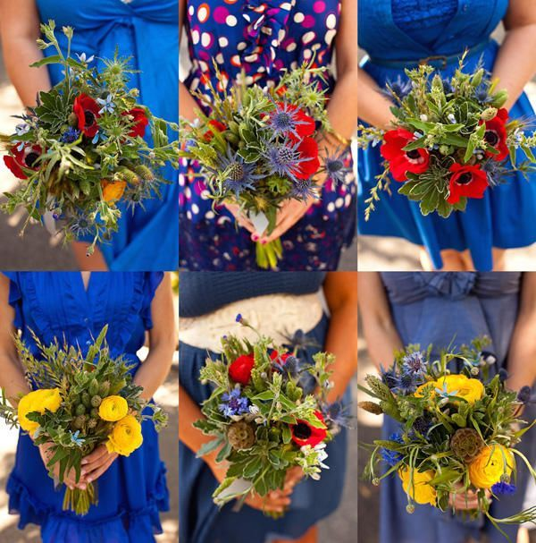 Red And Blue Wedding Ideas