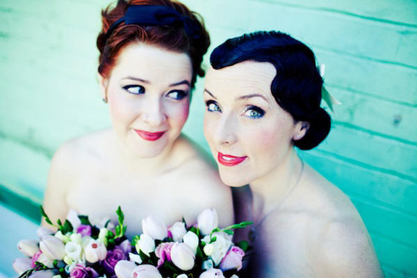 Retro Bridesmaid Dresses