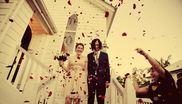 Rose Petal Wedding Toss