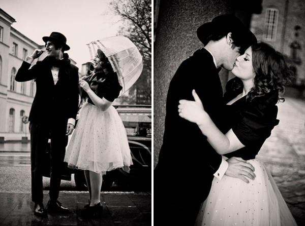 Vintage City Hall Wedding Ideas