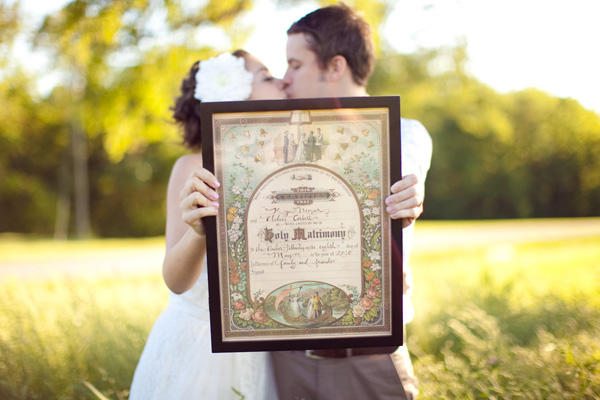 A Vintage Nashville Wedding