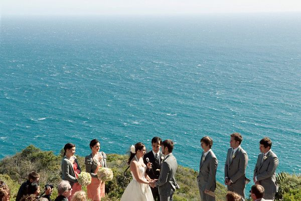 Big Sur Cliff Wedding