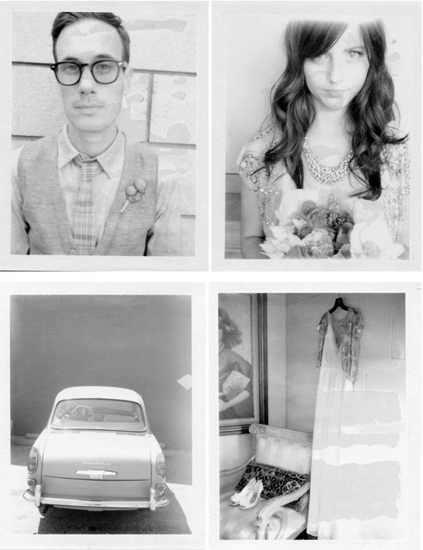 California Wedding Polaroids