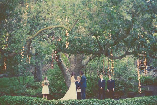Simple Outdoor Ceremony Decorations: A DIY Malibu Ranch Celebration