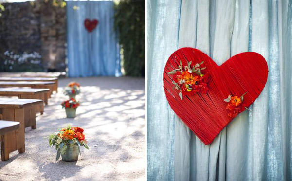 diy-red-wedding-bouquet