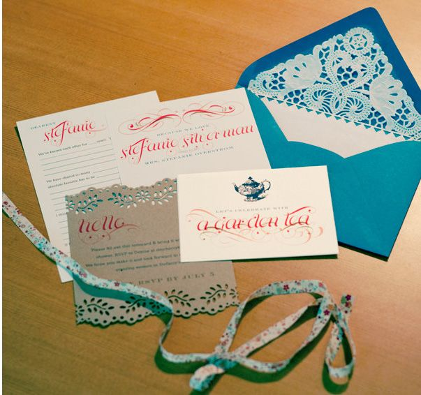 Lace Wedding Invations
