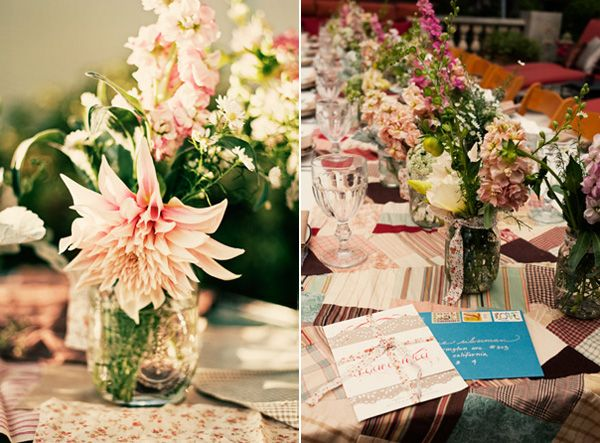 Pink Wedding Shower Ideas