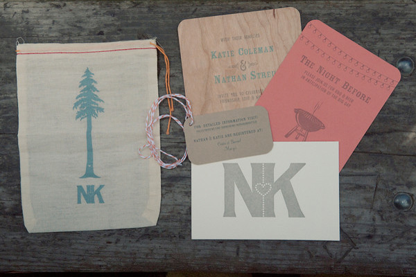 Rustic Wood Wedding Invitation Ideas