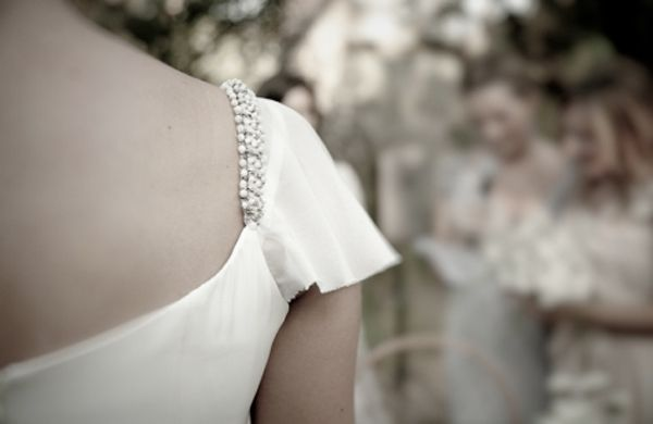 Cap Sleeve Wedding Dress