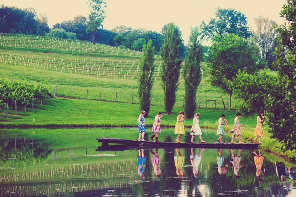 Crane Creek Vineyard Wedding