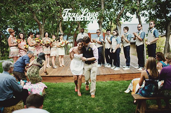 Cute wedding processional once wed cute wedding processional junglespirit Gallery