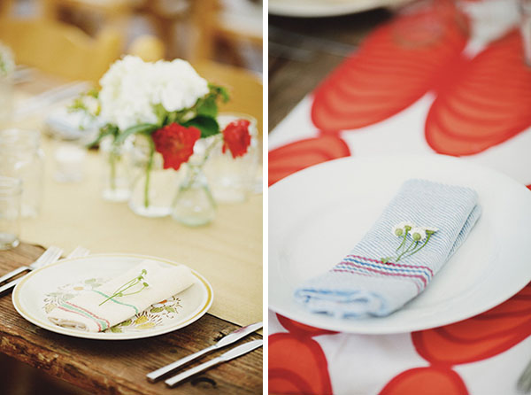 Diy Wedding Table Setting