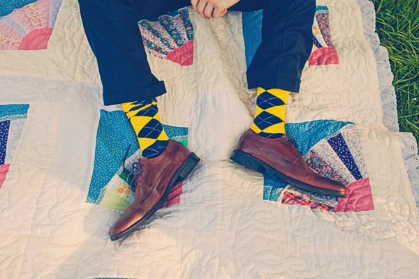 Groom Wedding Socks