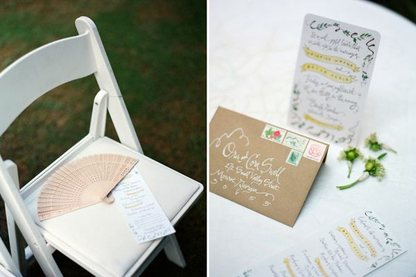 Handwritten Wedding Invitations