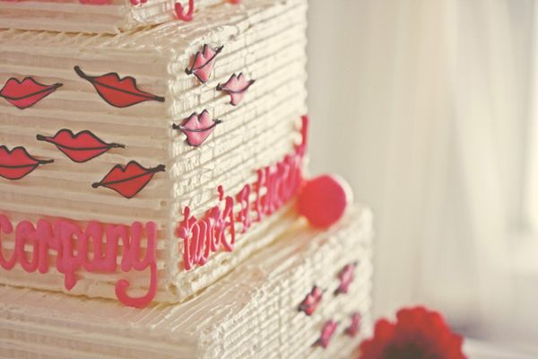 Kisses Wedding Cake