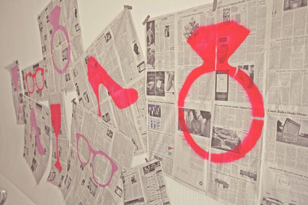 Newspaper Wedding Ideas