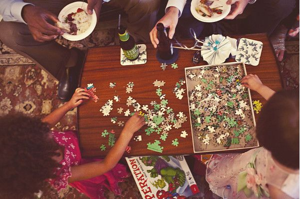 Puzzle Wedding Ideas