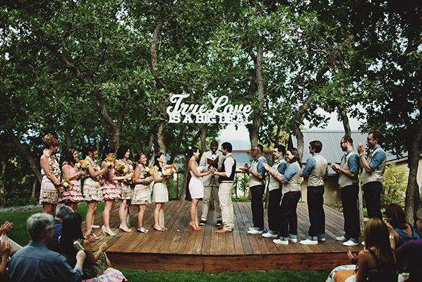 Ranch Wedding Ceremony Ideas