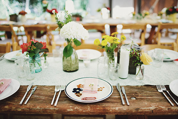 The Distressed Natural Wood Vibe Will Bring The Outdoors To Your Unique  Wedding Reception In A Flash. The Best Aspect Of The Farm Table ...